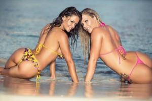 Lesbian exotic dancers