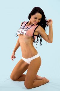 XXX rated Centrefold stripper | Beautiful topless waitress